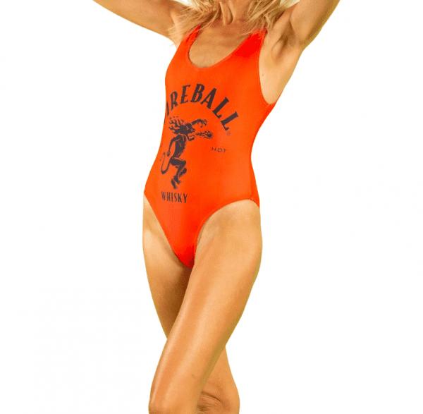 Fireball Red Swimsuit